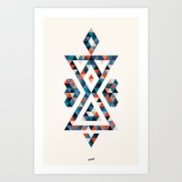 INDIAN - TIME Art Print