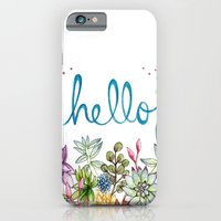 iPhone & iPod Case featuring hello spring by Brooke Weeber