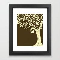 Jude's Tree Framed Art Print