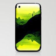 Vibrant Wasteland iPhone & iPod Skin