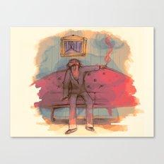 SMOldering racKEt  Canvas Print
