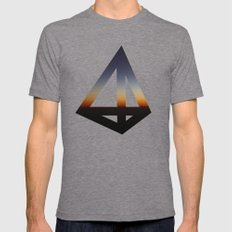 Geometry #20 Mens Fitted Tee Tri-Grey SMALL