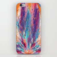 Colorful Fire iPhone & iPod Skin