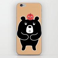 Apple Bear iPhone & iPod Skin