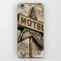 Vntage Grunge Star Motel… iPhone & iPod Skin