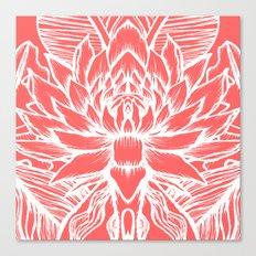 pink lotus  Canvas Print