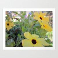 Flowers For The Masses Art Print