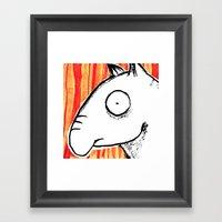 Tapir Framed Art Print