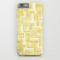 iPhone & iPod Case featuring Golden Doodle weave by Katy Clemmans