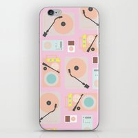 Music Lover Pastel iPhone & iPod Skin