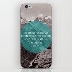 Isaiah 41:13 iPhone & iPod Skin
