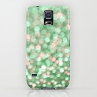 Holiday Cheer Mint Galaxy S5 Slim Case