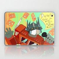 Optimus Prime DARE to keep your dreams alive! Laptop & iPad Skin