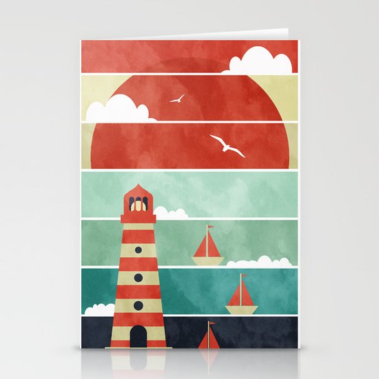 Coming Home. Stationery Card