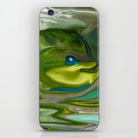 Smilen Sam The Fish...For Kids iPhone & iPod Skin