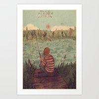 Thinking Out Loud Art Print
