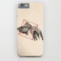 iPhone & iPod Case featuring Fish In Geometrics III by Speakerine / Florent Bodart