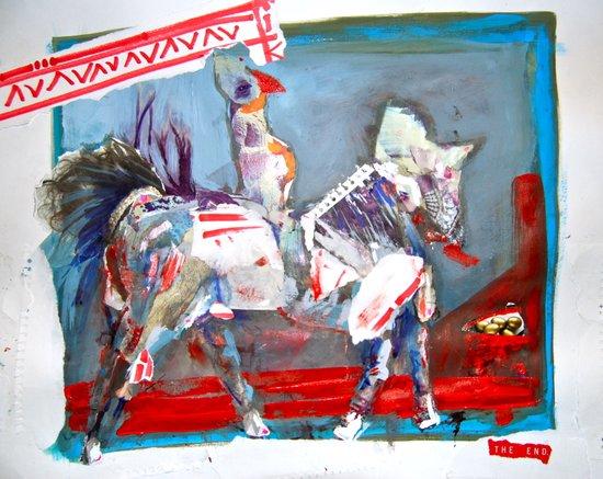 Ride till U Die Art Print