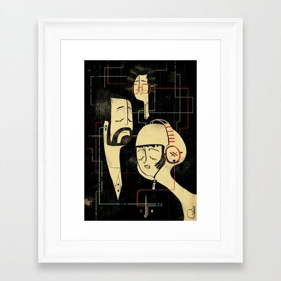 乐 Music v.2 Framed Art Print