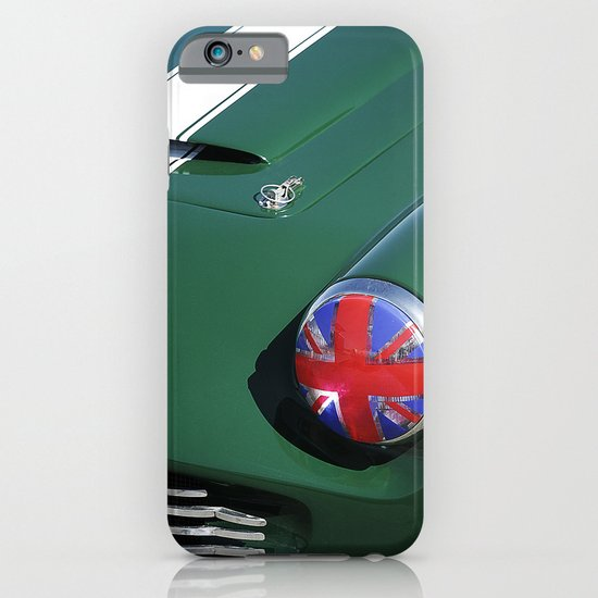 Union Jack Headlight iPhone & iPod Case