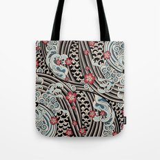 Waves of tradition Tote Bag
