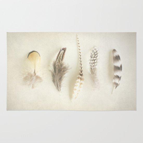 Feather Area & Throw Rug