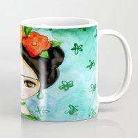 Frida And Her Tears Mug