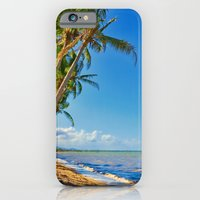 Coconut palms in Tropical North Queensland iPhone 6 Slim Case