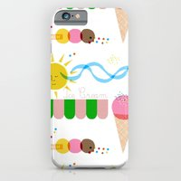 iPhone & iPod Case featuring Ice Cream Summer by mrs eliot books