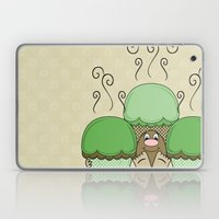 Cute Monster With Green … Laptop & iPad Skin