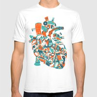 Music In Your Heart? Mens Fitted Tee White SMALL