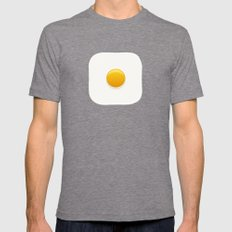 Good Morning, Sunshine Mens Fitted Tee Tri-Grey SMALL