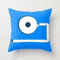 Measuring Tape Throw Pillow