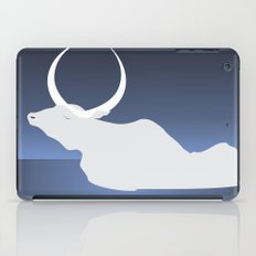 the moon landed softly on her head and stayed there...  iPad Case