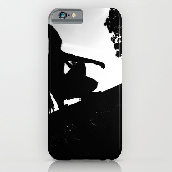 girl on a ledge iPhone & iPod Case