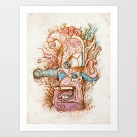 Mal De Teté - The Print Art Print