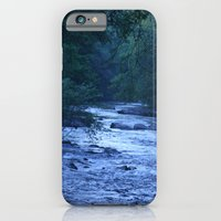 iPhone & iPod Case featuring River in Blue by Katherine Farah