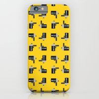 iPhone & iPod Case featuring camera 04 pattern by Thefunctionalfox
