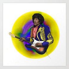 James Marshall Hendrix Art Print