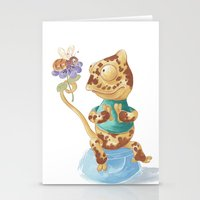 Camelot & Bee Stationery Cards