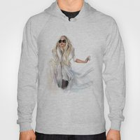 Mother Monster in  NYC Hoody