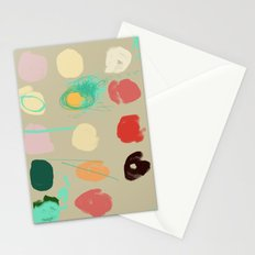 Tops of Ice Cream Cones Like Toupées Stationery Cards