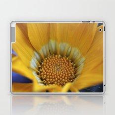 Yellow Gazania Macro Laptop & iPad Skin