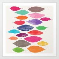 Float 2 Sq  Art Print