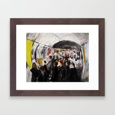 London Underground Subwa… Framed Art Print