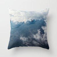 Reflected Sky Throw Pillow