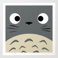 Curiously Troll ~ My Nei… Art Print