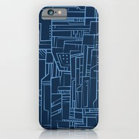 Electropattern (Blue) iPhone 6 Slim Case