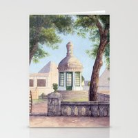 Tiny Old Mediterranean C… Stationery Cards