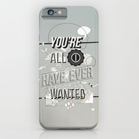iPhone & iPod Case featuring All I Want by Kavan and Co